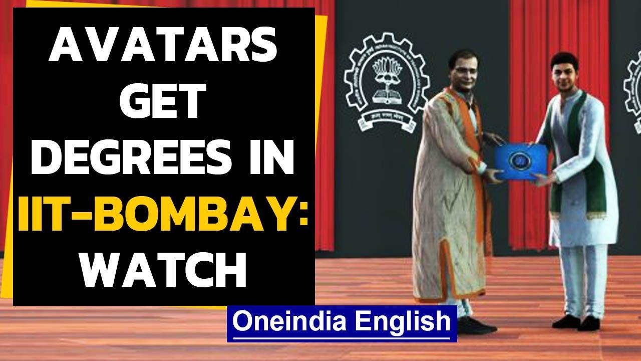 IIT-Bombay students turn into avatars for convocation: Watch | Oneindia News