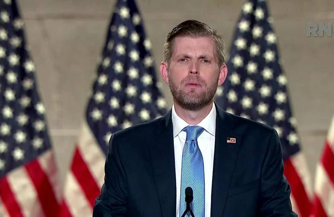 Eric Trump to Americans: 'My father will fight for you'