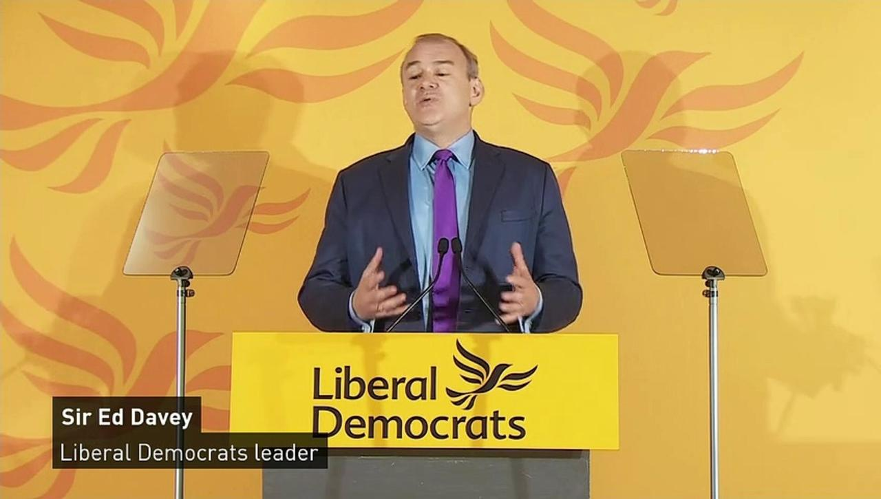 Davey urges Lib Dems to 'wake up and smell the coffee'