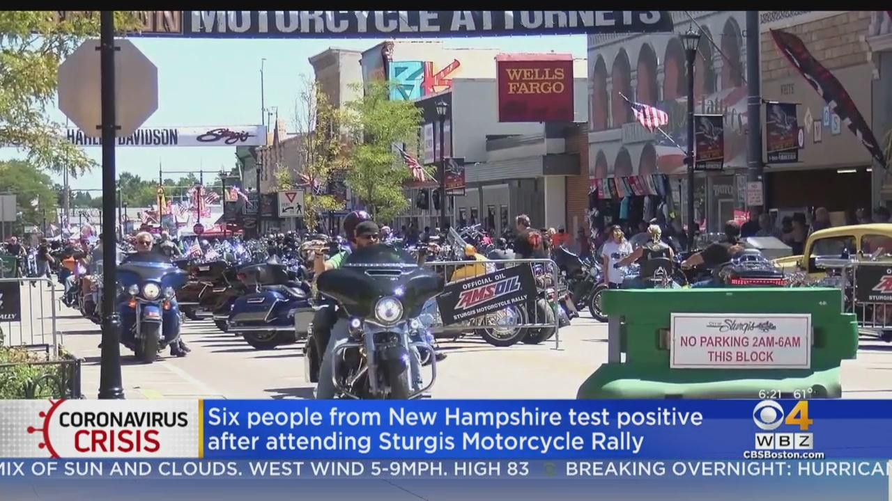 6 People From New Hampshire Test Positive After Attending Sturgis Motorcycle Rally