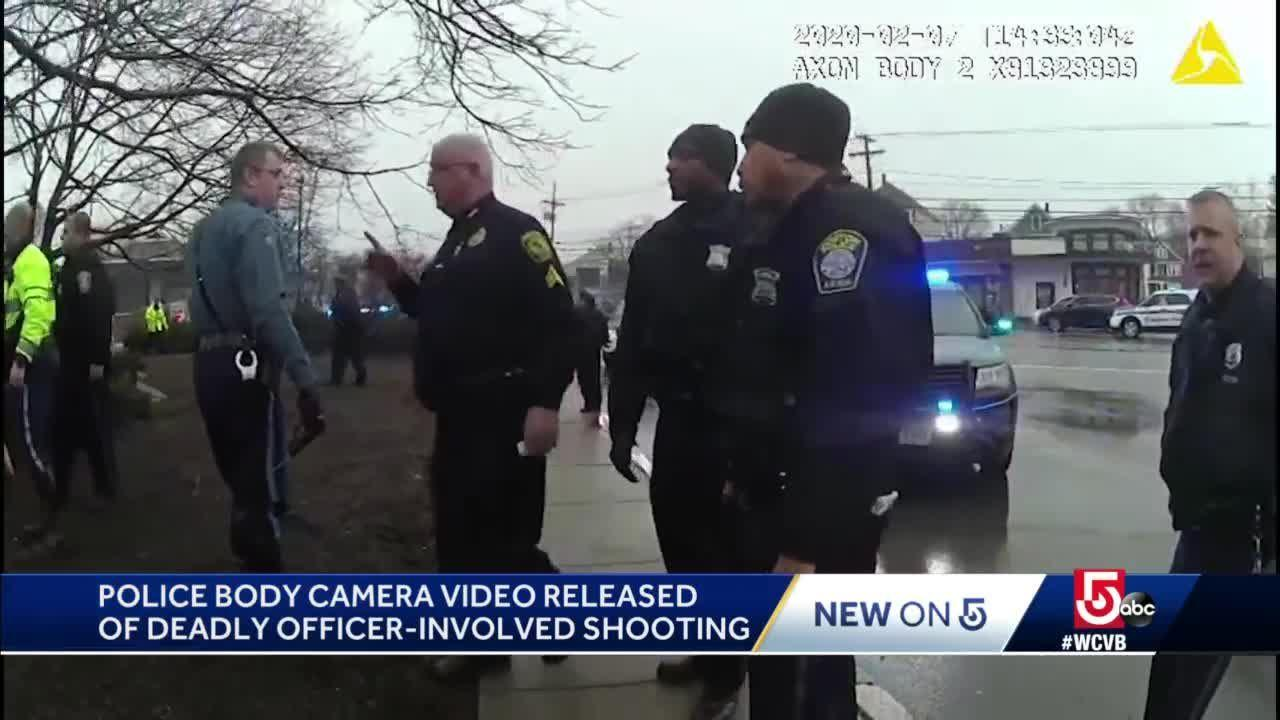 Body camera footage from deadly confrontation released