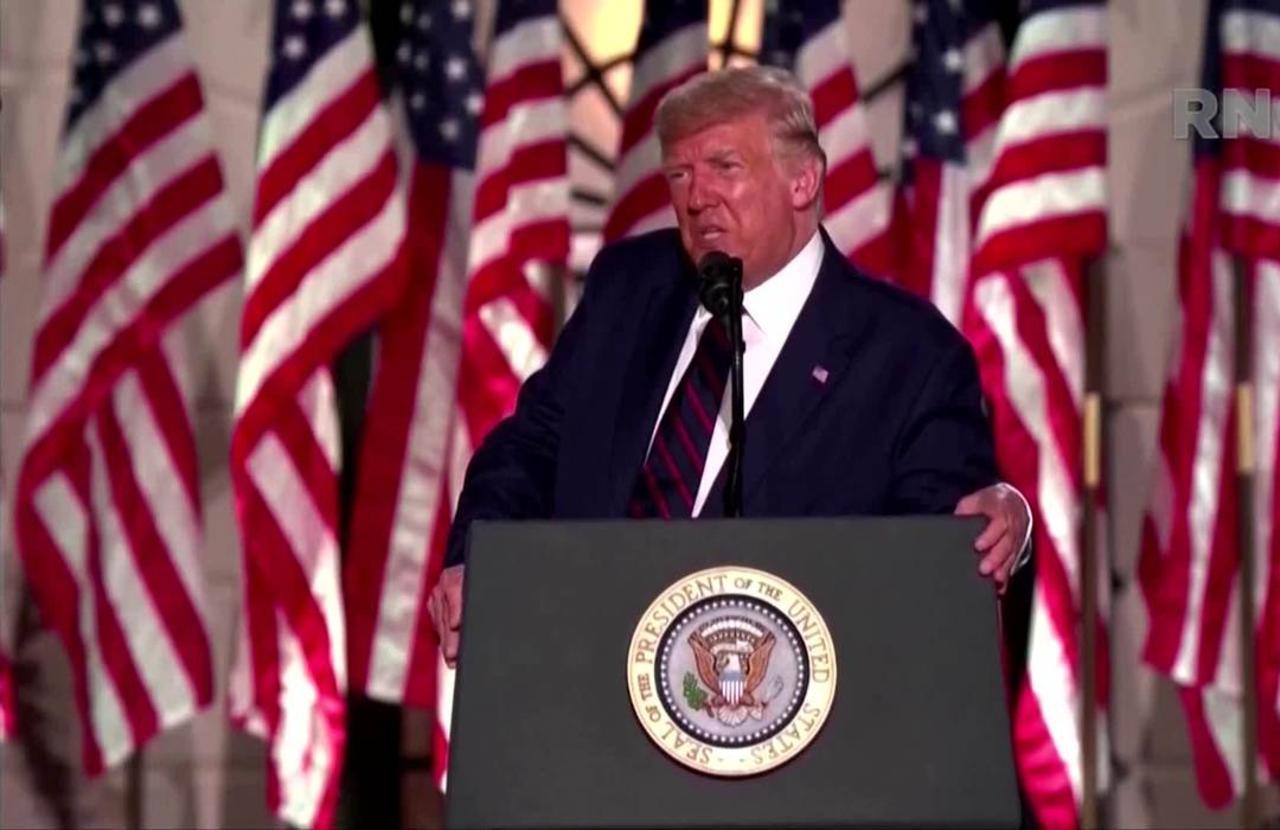 Trump assails Biden in RNC acceptance speech
