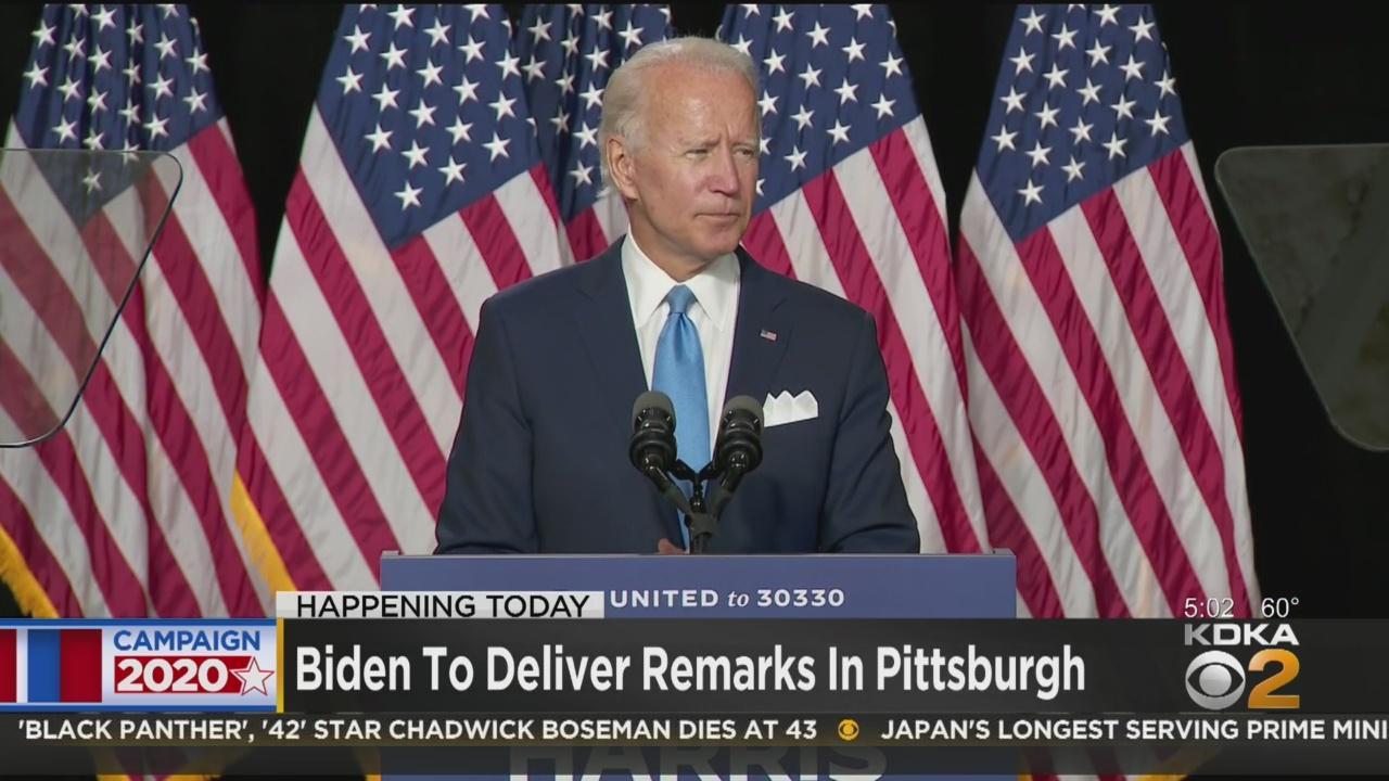 Joe Biden To Deliver Remarks In Pittsburgh