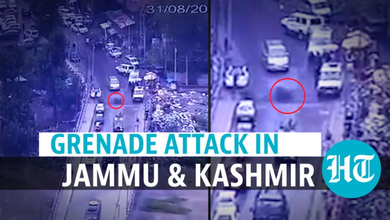 Watch: Grenade attack bid on Army in J&K; explosion on road injures many