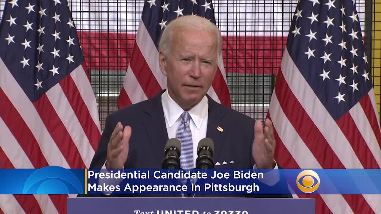Joe Biden Blames President Trump For Nationwide Violence In Pittsburgh Speech