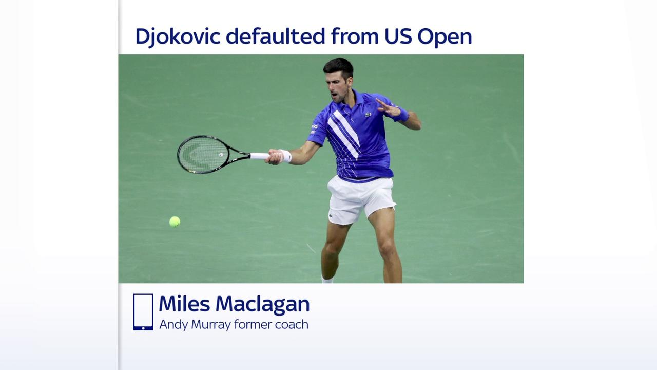 Umpire Had No Choice But To Default Djokovic One News Page Video
