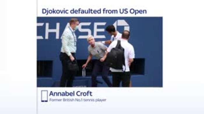 Djokovic Could Struggle To Get Over Default One News Page Video