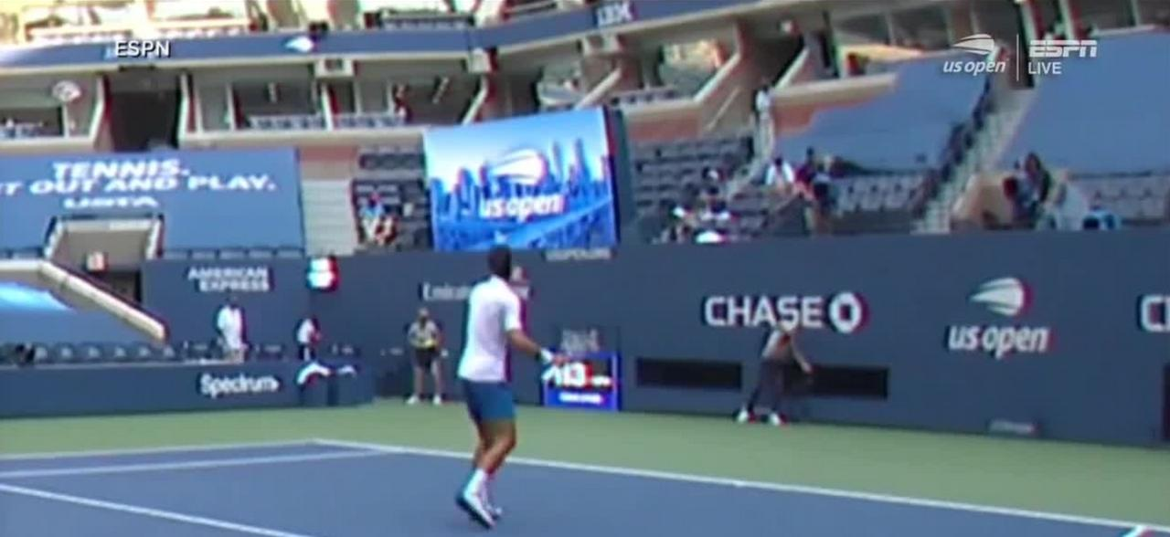 Novak Djokovic Gets Disqualified From The One News Page Us Video
