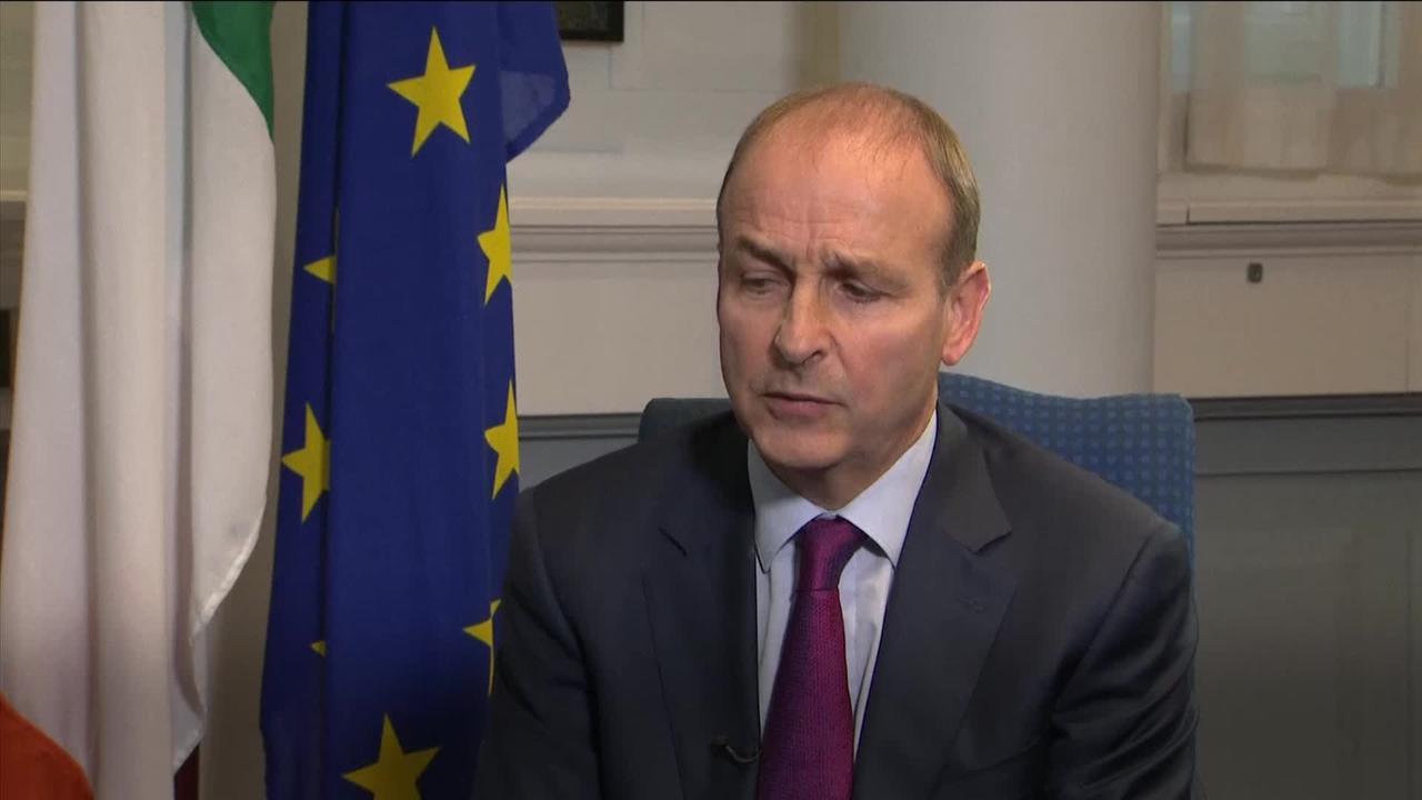 Irish PM criticises UK plans to change Brexit deal