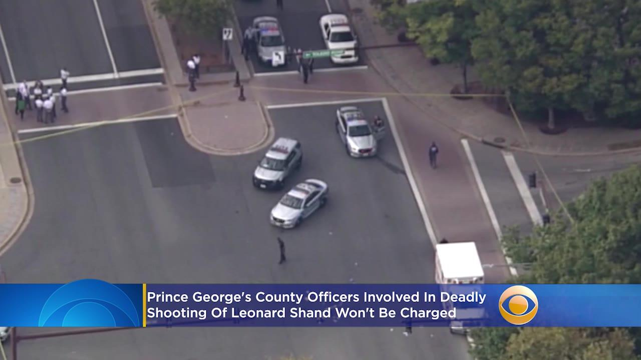 Prince George's County Officers Involved In Deadly Shooting Of Leonard Shand Won't Be Charged