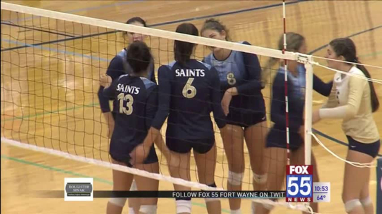 High School Volleyball: Bishop Dwenger sweeps Carroll