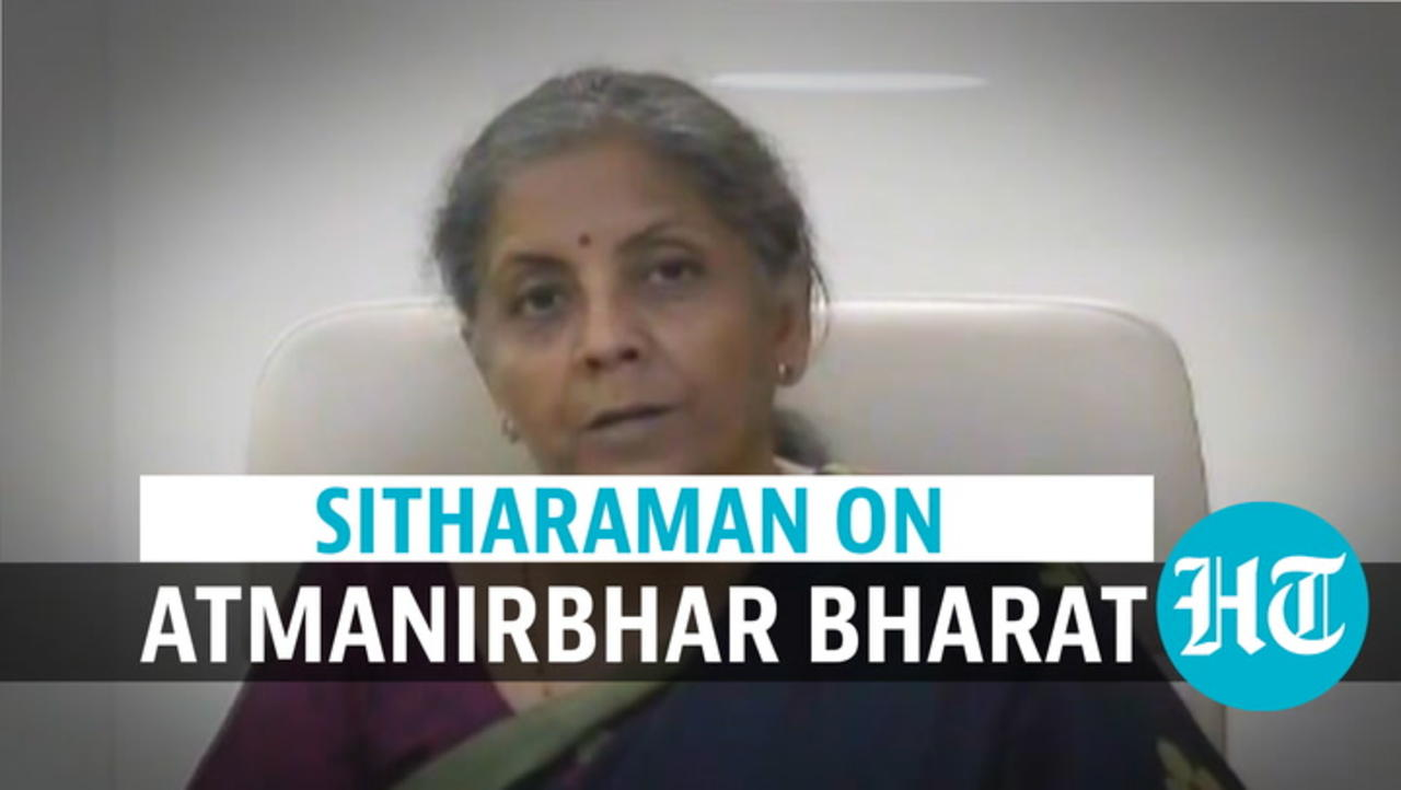 Finance Minister on new pharmaceutical-related facilities, Atmanirbhar Bharat