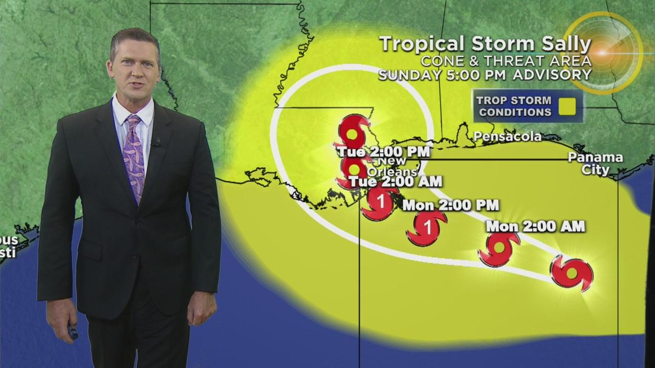 Tracking Tropical Storm Sally - One News Page VIDEOHurricane Sally