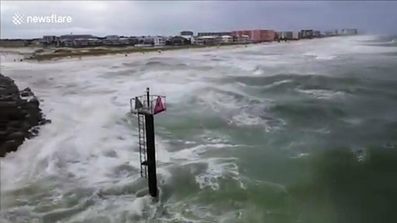 Hurricane Sally rocks Florida with huge waves - One News ...Hurricane Sally
