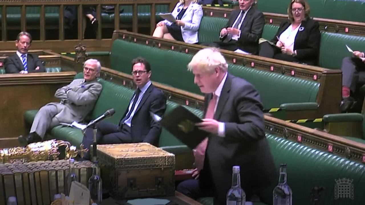 Boris Johnson: Brexit divorce Bill will act as an insurance policy for the UK