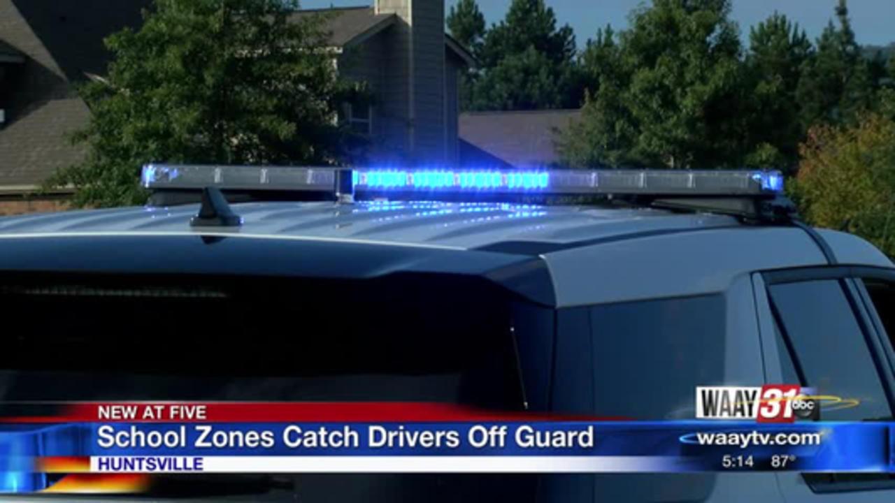 School Zones Catch Drivers Off Guard