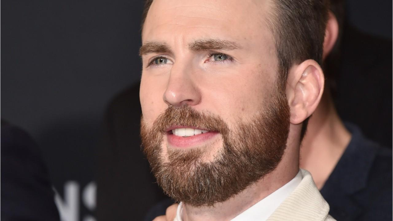 Chris Evans: That Pic For A Purpose