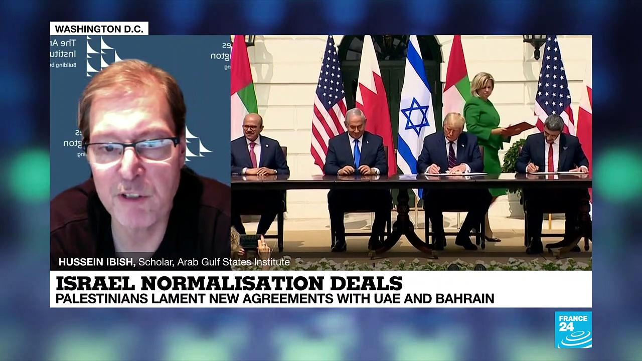 Israel normalisation deals: Palestinians lament new agreement with Emirates and Bahrain