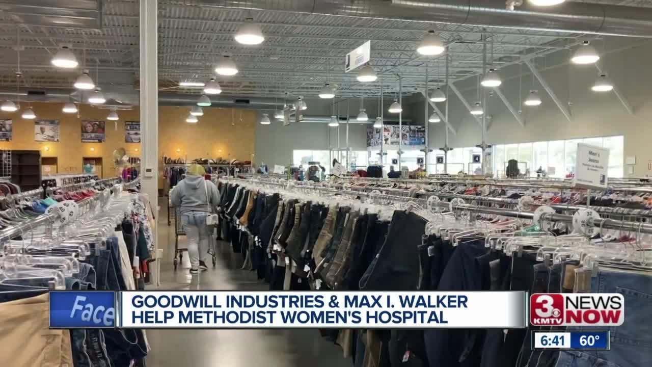Goodwill Industries, Max I. Walker help Methodist Women's Hospital