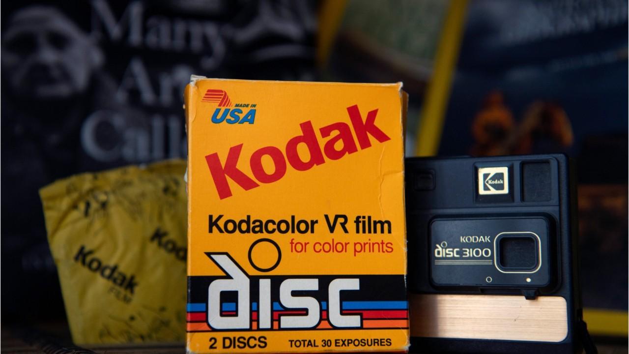 Kodak Stock Rises 84%
