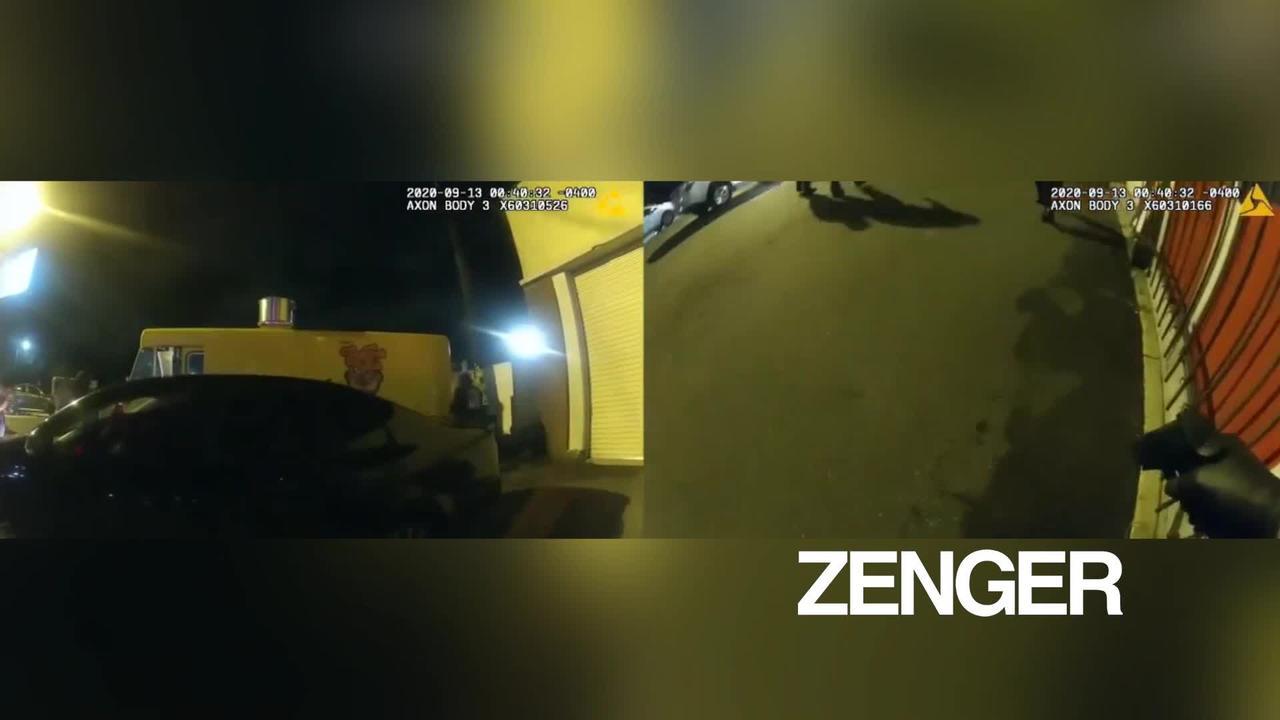 Florida cops drag suspect off bridge ledge