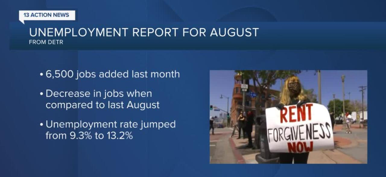 Nevada Unemployment Report For August 2020 One News Page Us Video