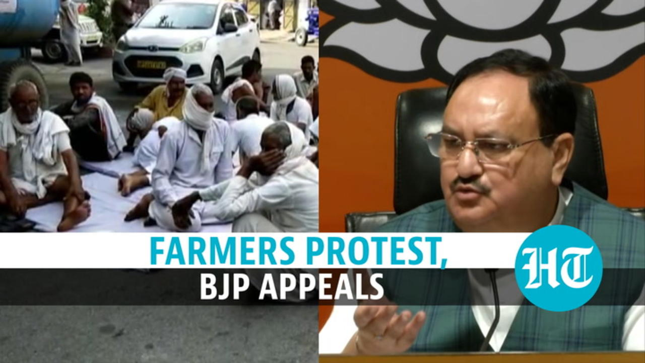 Farmers continue protest against 3 agri bills; BJP appeals: 'Will boost income'