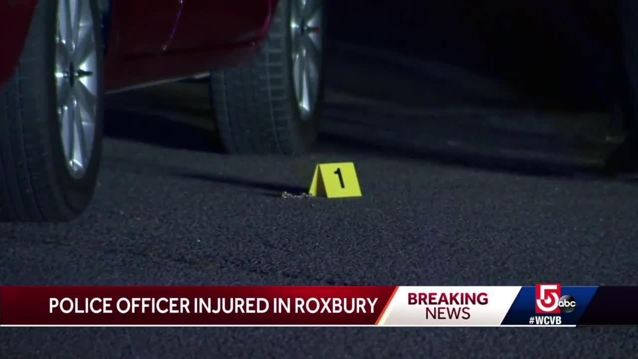 Boston police officer injured after traffic stop