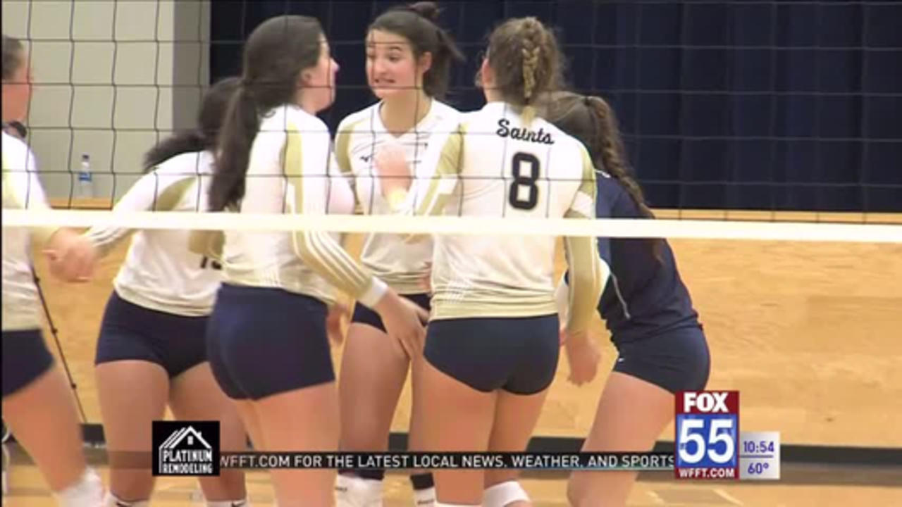 High School Volleyball: Dwenger Dominates East Noble