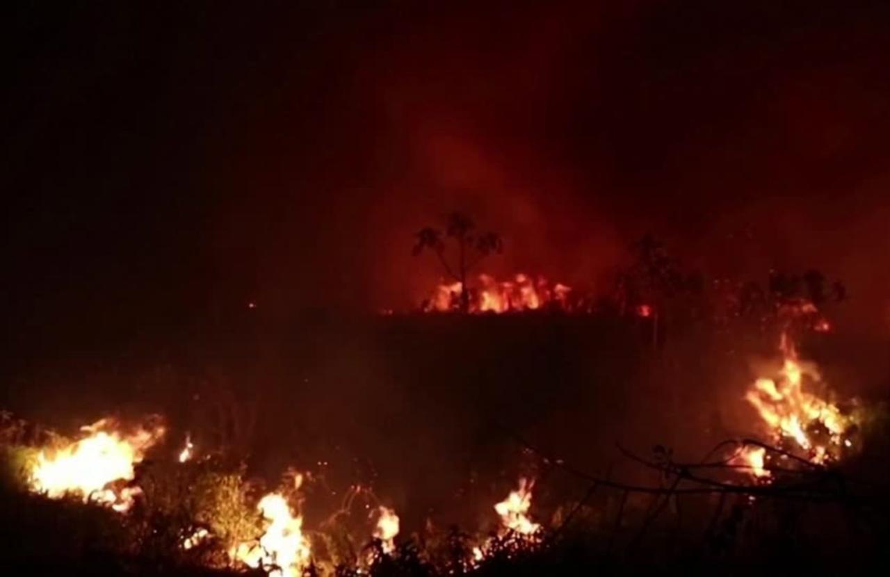 As fires burn, Bolsonaro touts Brazil's environment