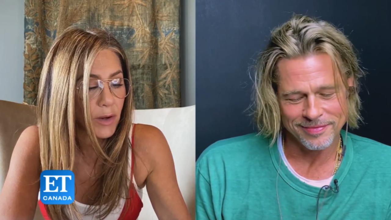 Jennifer Aniston, Brad Pitt Get Flirty In Virtual 'Fast Times' Table Read