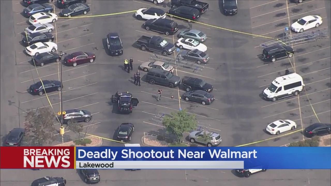 After Fatal Shooting In Walmart Parking Lot, Lakewood Officers Kill Gunman Nearby