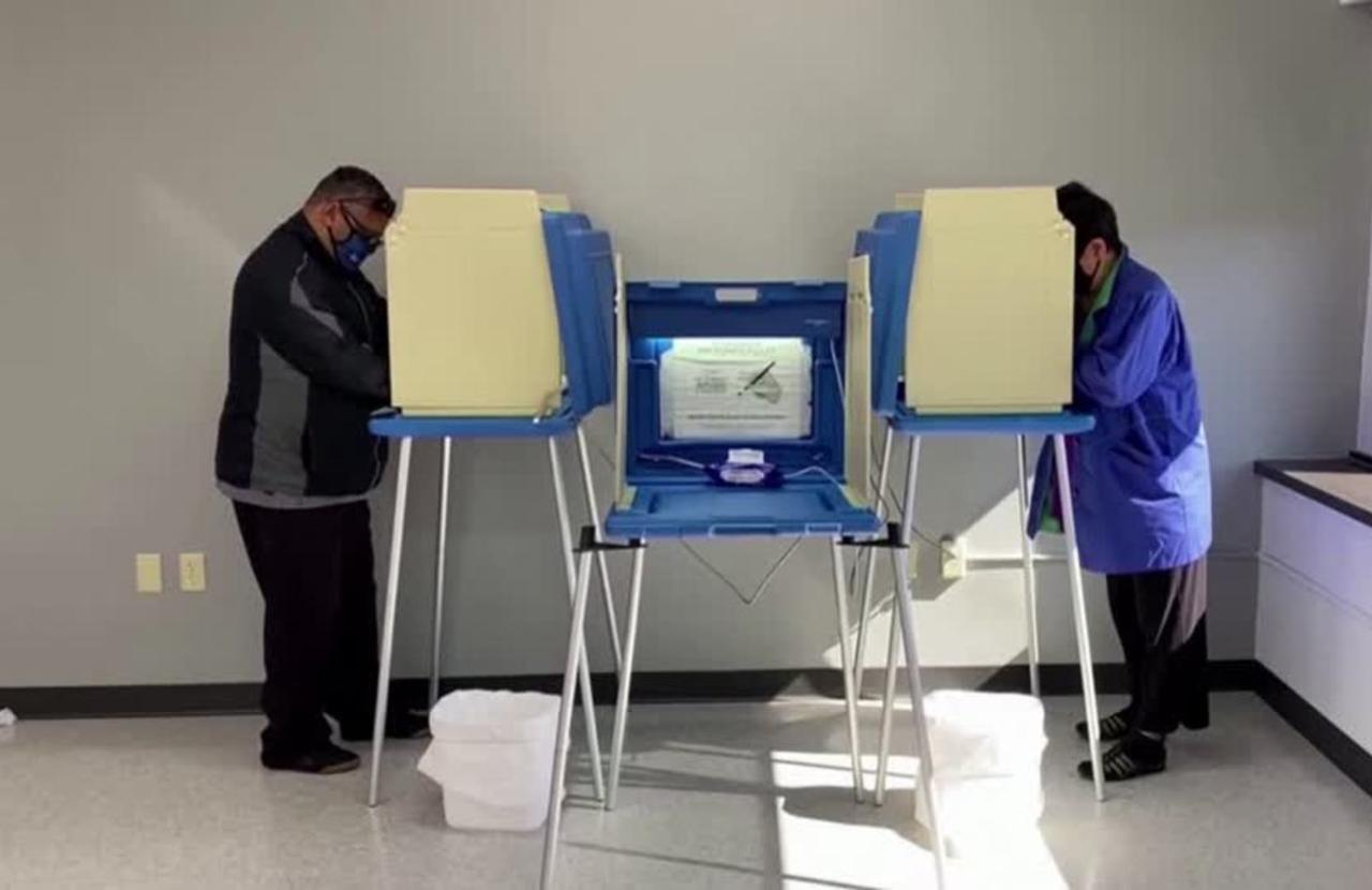 Big turnout on day one of early voting