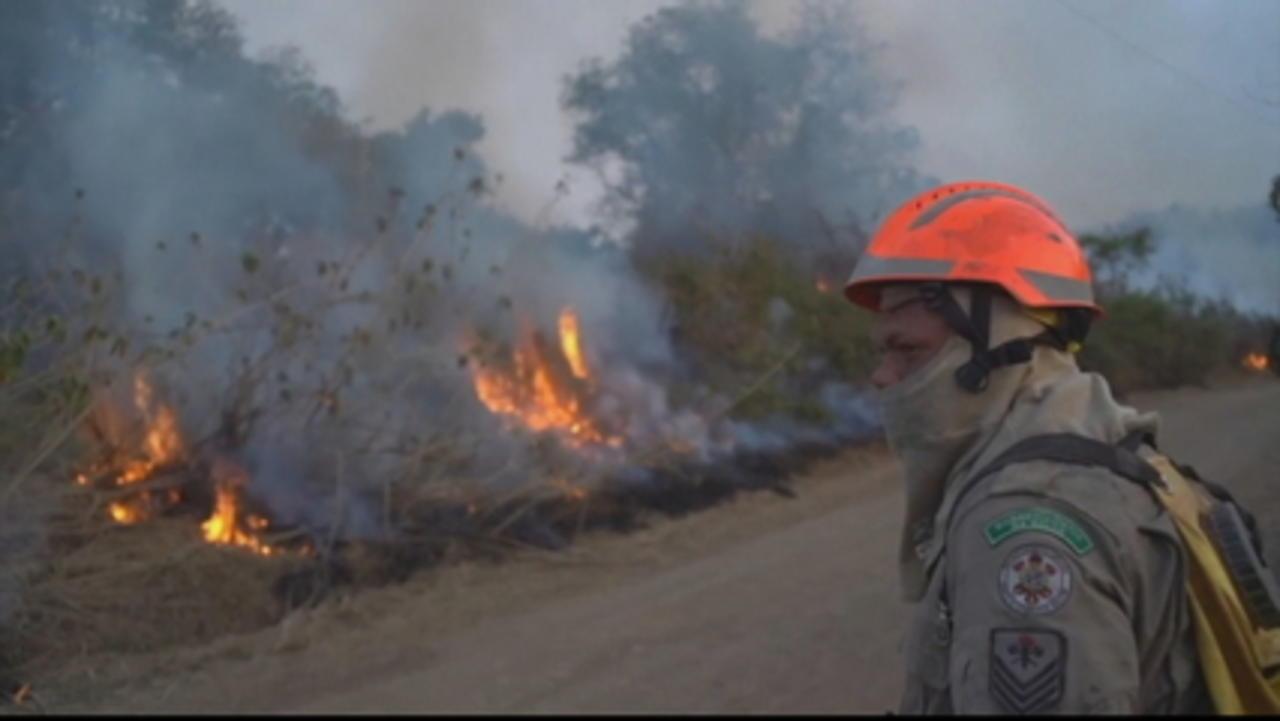 Fires continue to ravage Brazil's Amazon rainforest, Pantanal wetlands