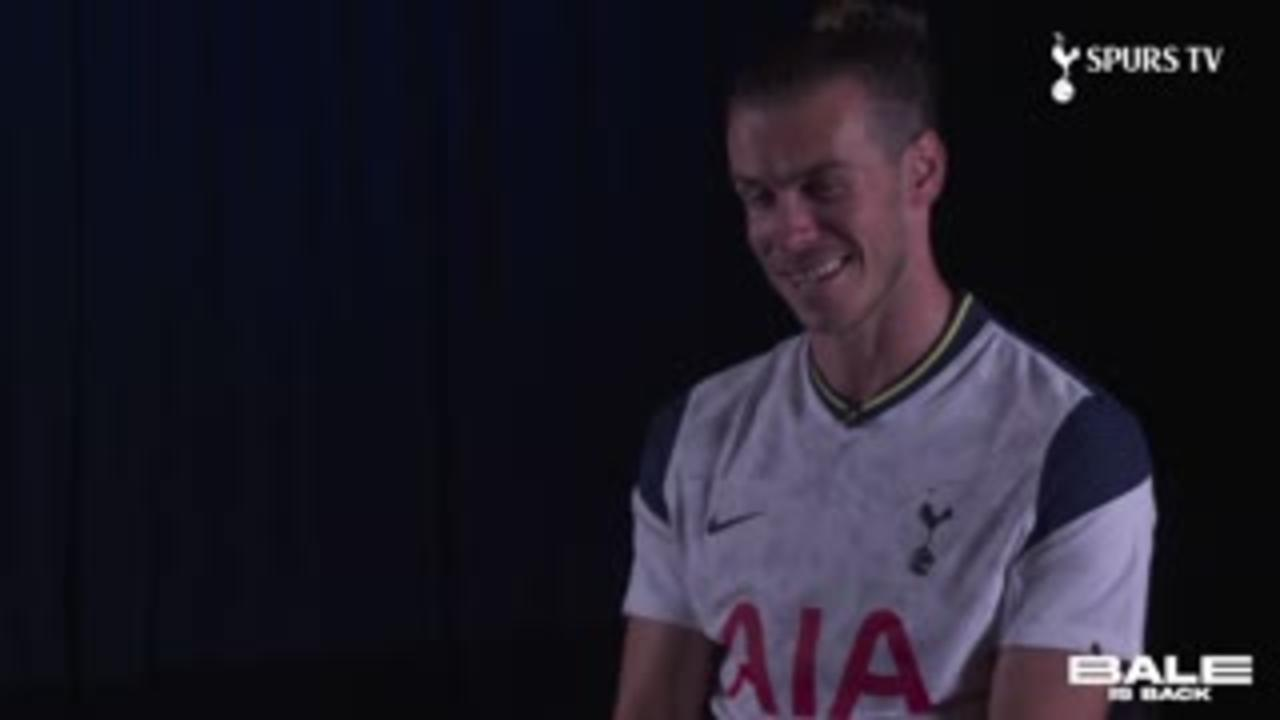Bale: It's incredible to be back