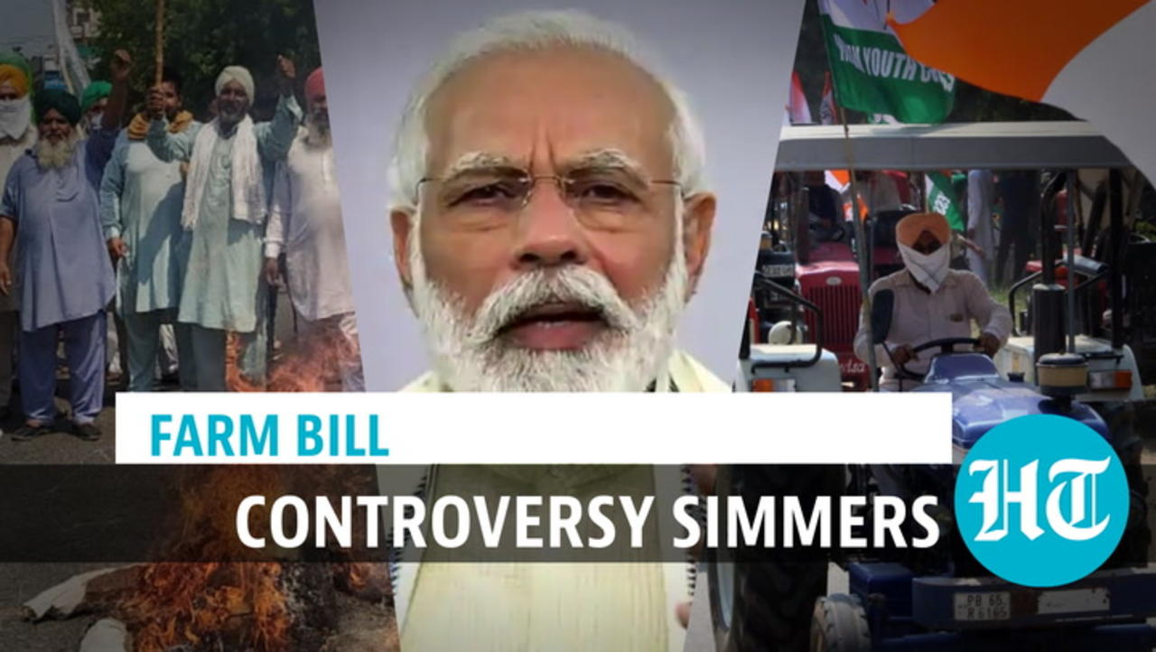 Watch: Highway blockade, tractor rally, dharna by farmers; PM Modi defends bills