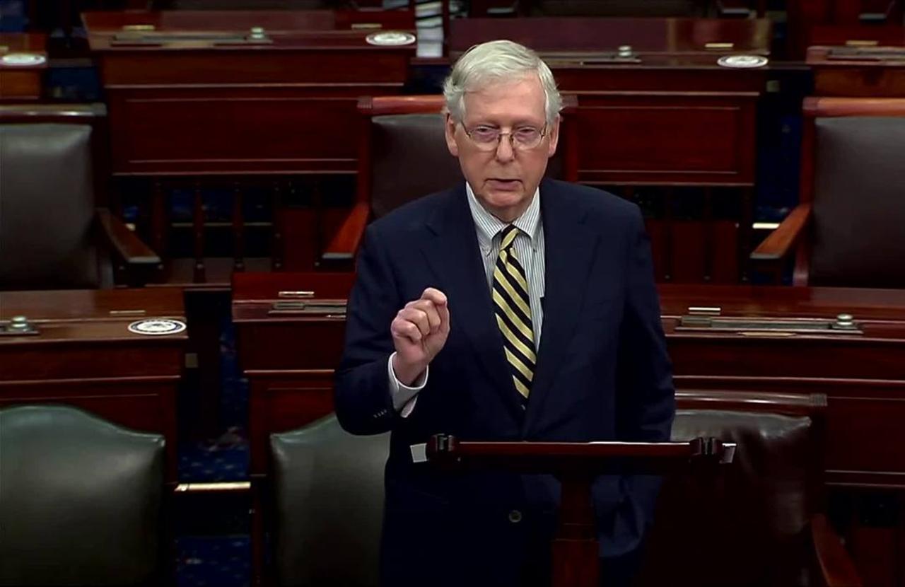 Senate leaders spar over Trump's intent to nominate