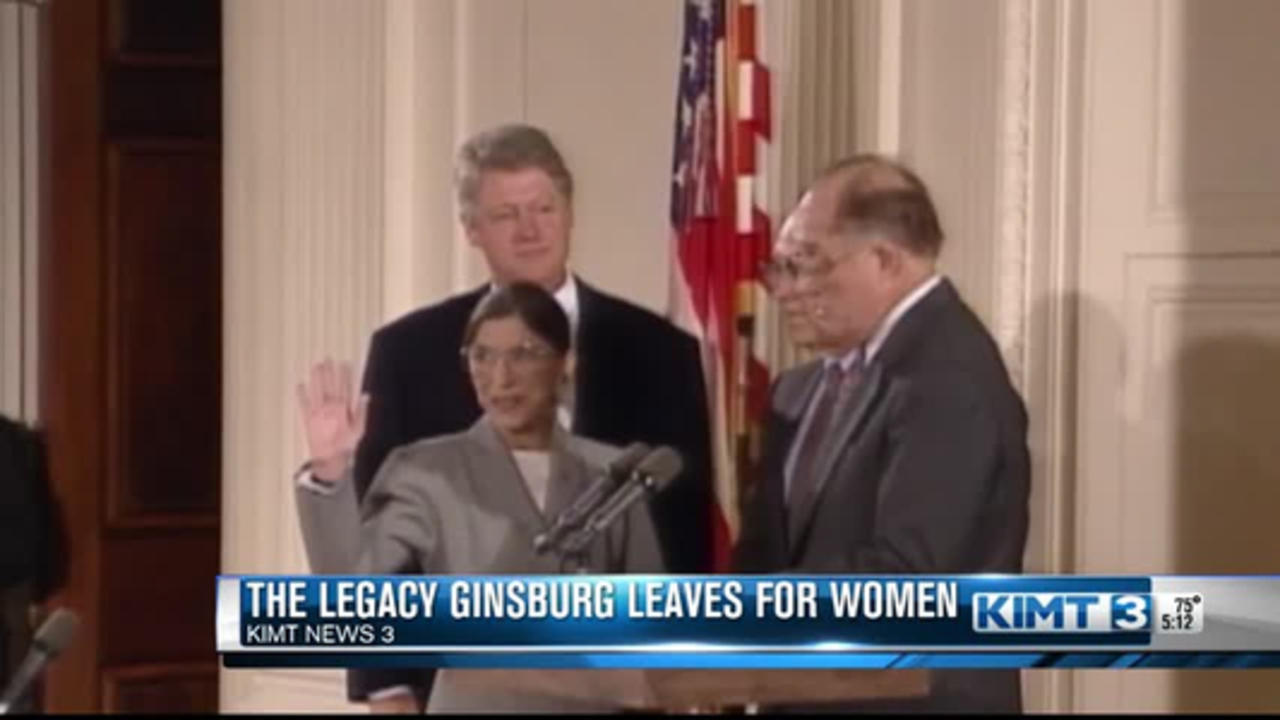 Justice Ginsberg's legacy for women