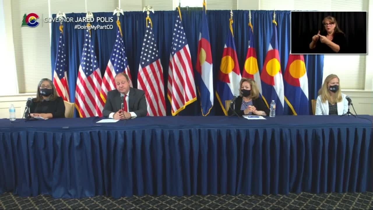 Colorado officials discuss increase in COVID-19 cases, furlough days for some state employees – Pt. 1