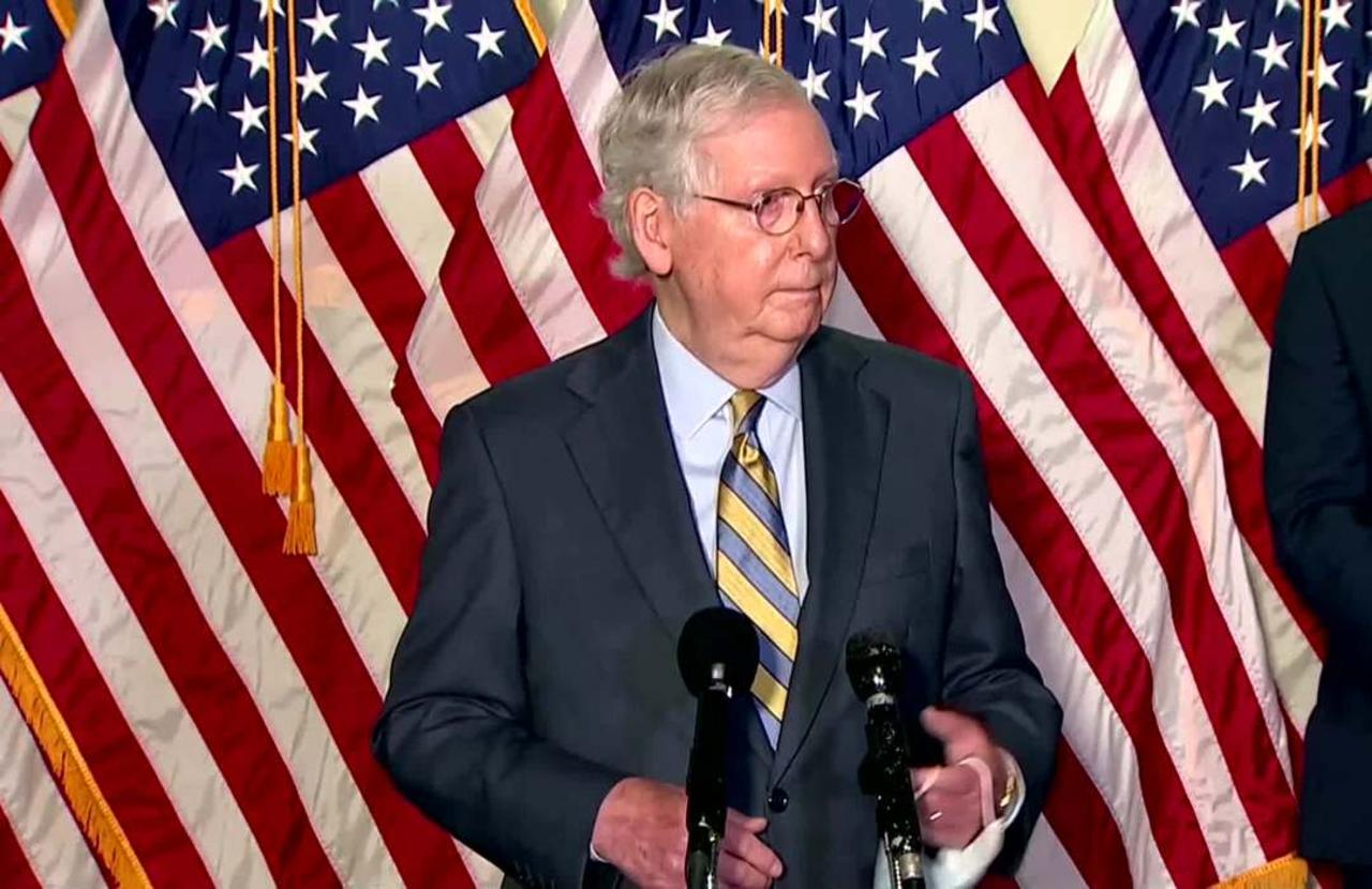 McConnell defends decision to fill Ginsburg's seat
