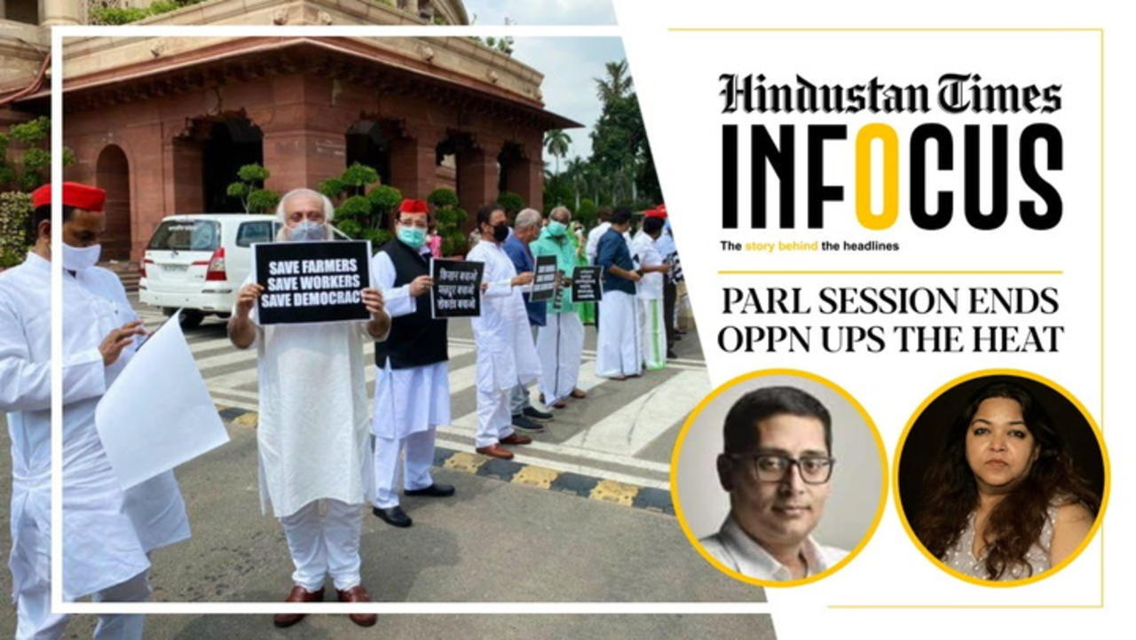 Monsoon session ends amid suspensions & boycotts; upset Oppn meets President