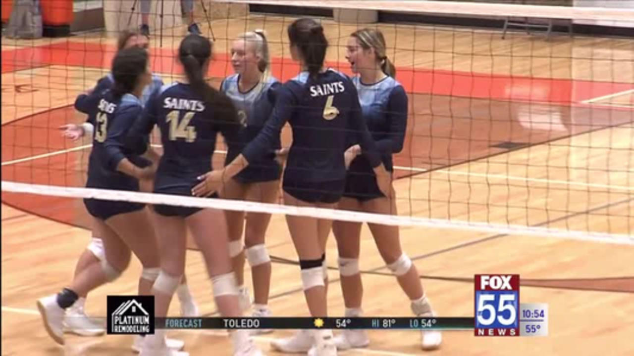 High School Volleyball: Dwenger and Heritage pick up sweeps