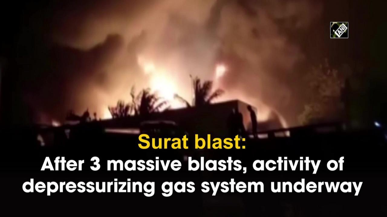 Surat blast: After 3 massive blasts, activity of depressurizing gas system underway