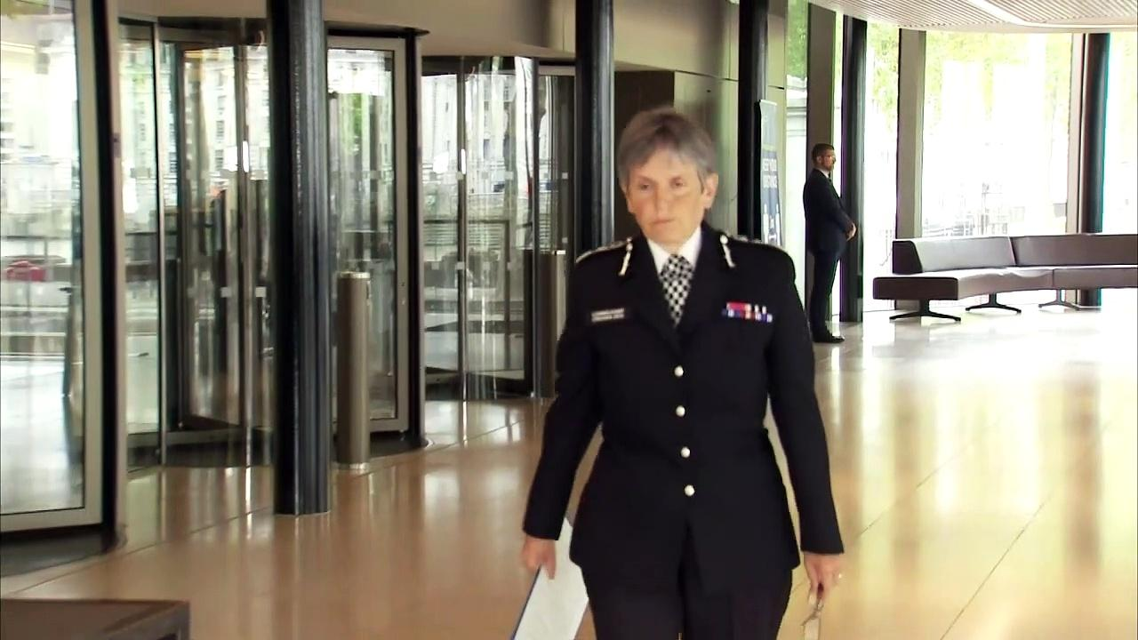 Cressida Dick: 'We police are all mourning a great loss'