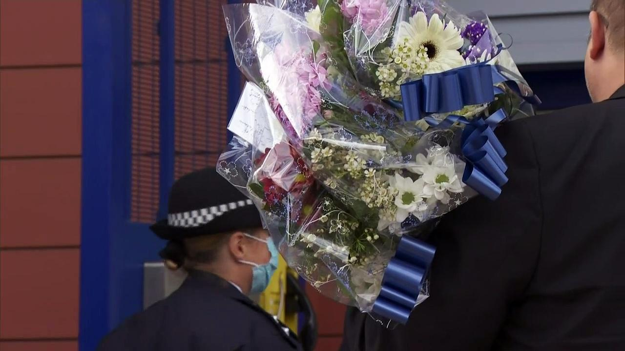 Police colleagues remember officer killed in Croydon