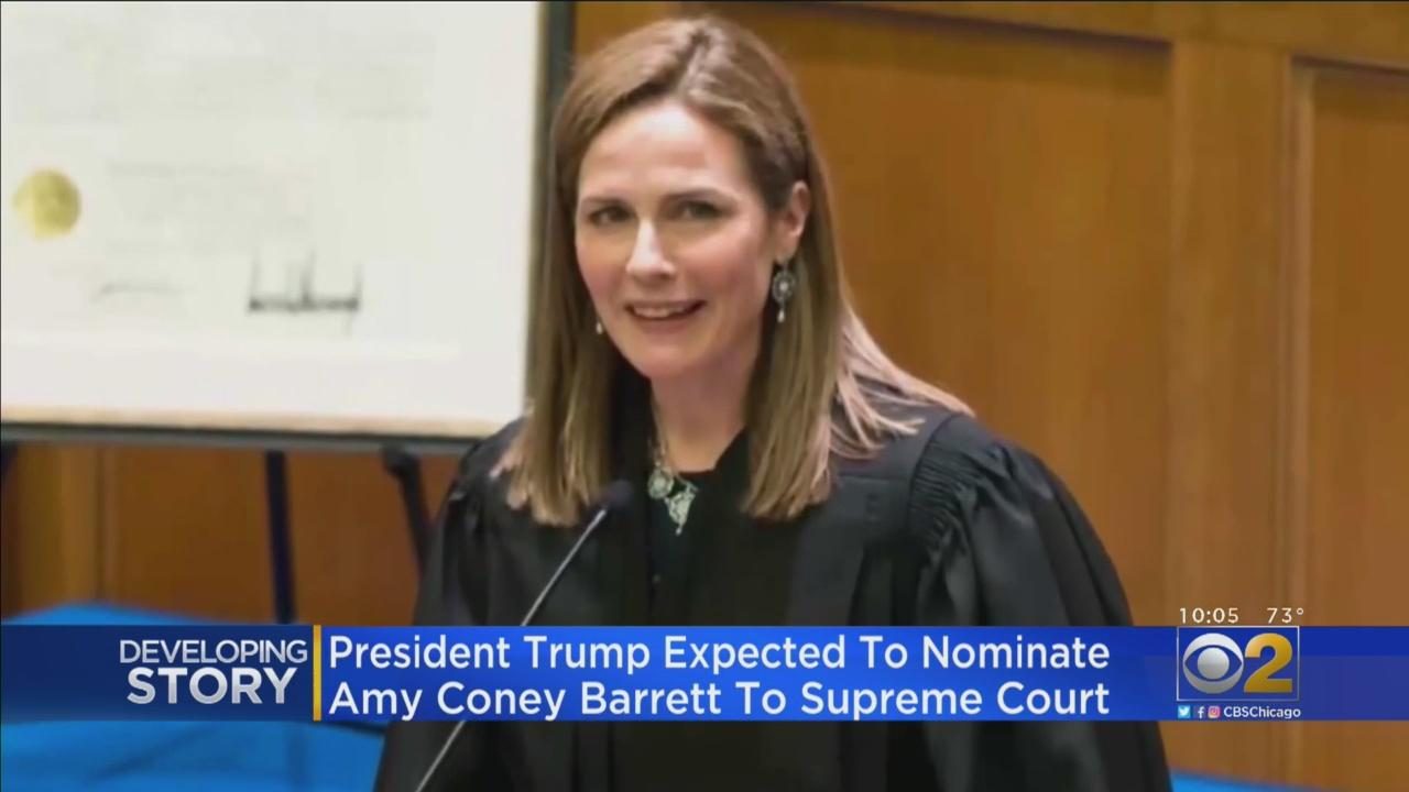 Leading SCOTUS Candidate Amy Coney Barrett Claims Bible ...
