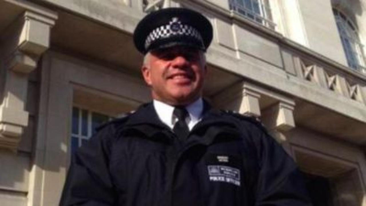 Tributes paid to 'awesome' police officer