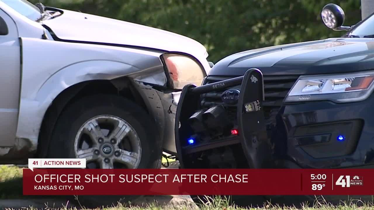 KCPD officer shoots man near Swope Parkway