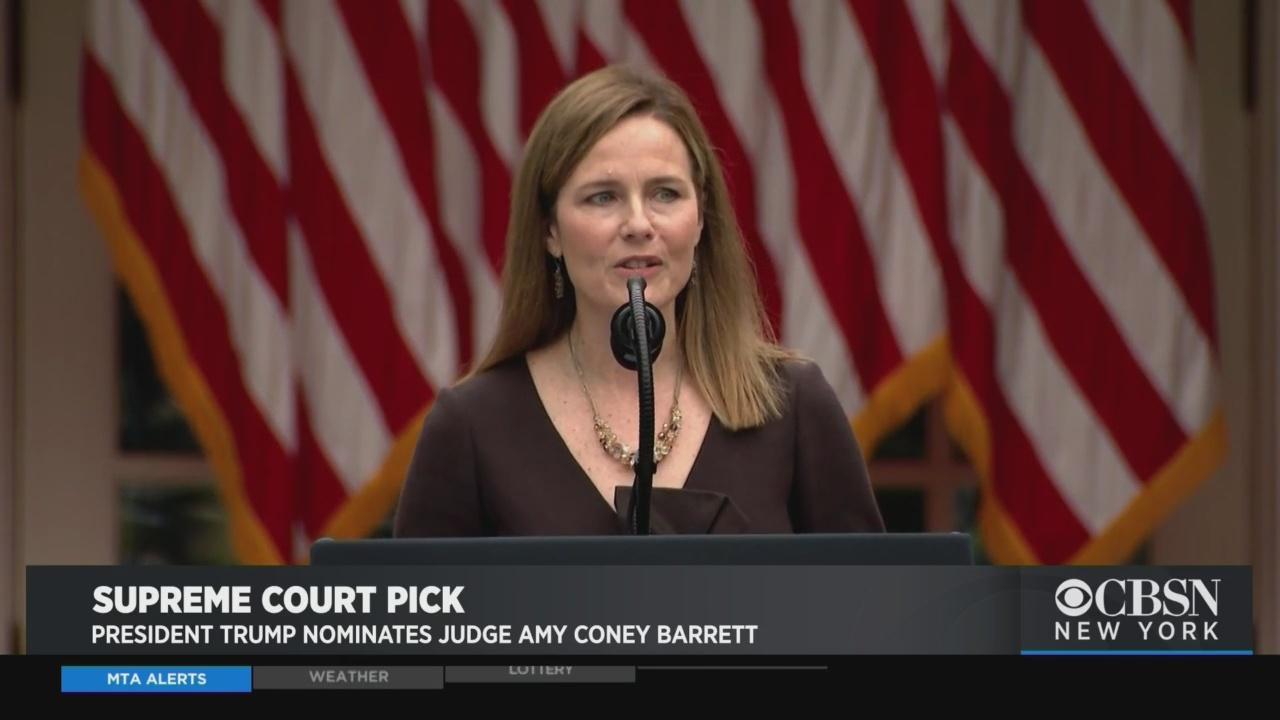 President Trump Nominates Judge Amy Coney Barrett