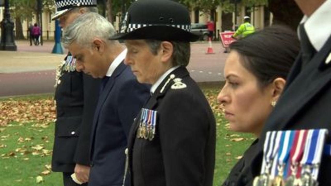 Tributes paid to officer shot dead in Croydon